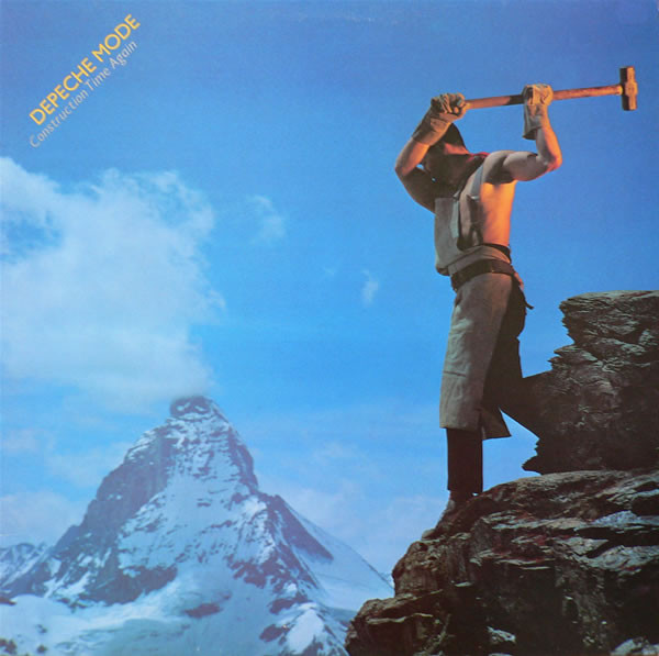 Depeche Mode Construction Time Again