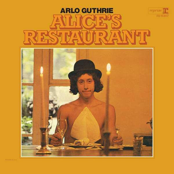 Guthrie, Arlo Alice's Restaurant Vinyl