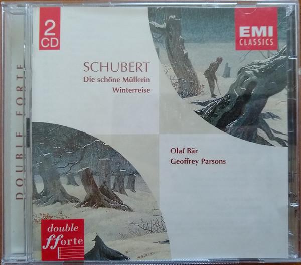Schubert, Olaf Bär, Geoffrey Parsons Die Schöne Müllerin ・Winterreise Vinyl