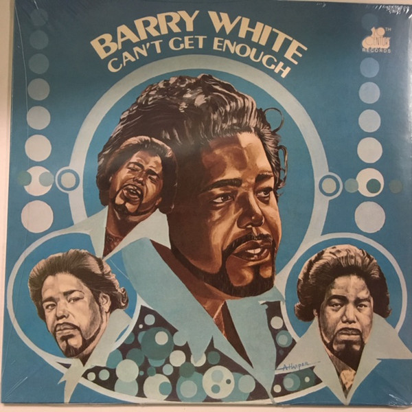 White, Barry Can't Get Enough Vinyl