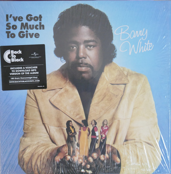 Barry White I've Got So Much To Give Vinyl