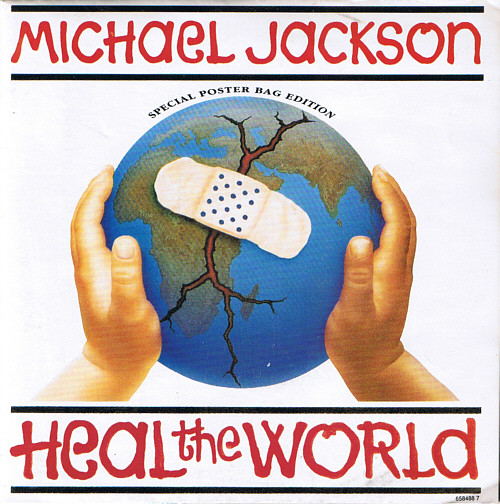 Jackson, Michael Heal the World Vinyl