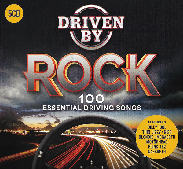 Various Driven By Rock - 100 Essential Driving Songs Vinyl
