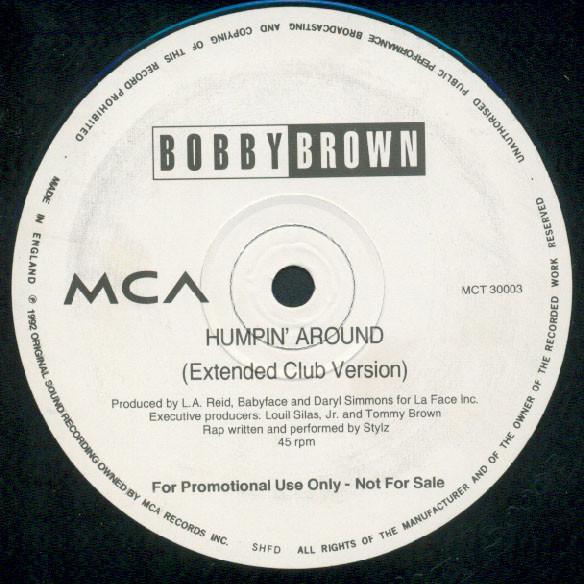Brown, Bobby Humpin' Around Vinyl