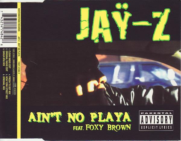 Jay-Z Ain't No Playa CD