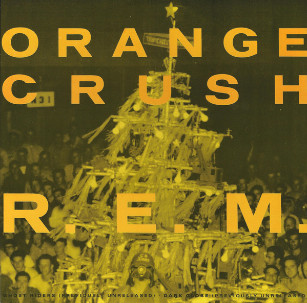 R.E.M. Orange Crush Vinyl