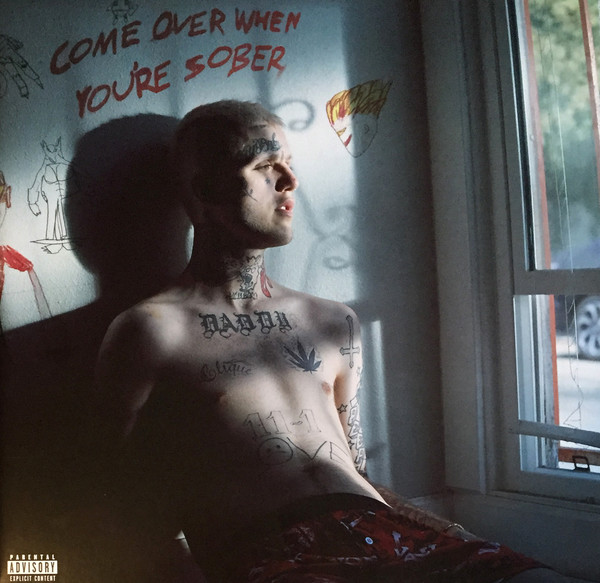Lil Peep Come Over When You're Sober, Pt. 1 & Pt. 2 Vinyl