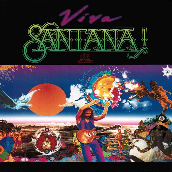 Santana Viva Vinyl
