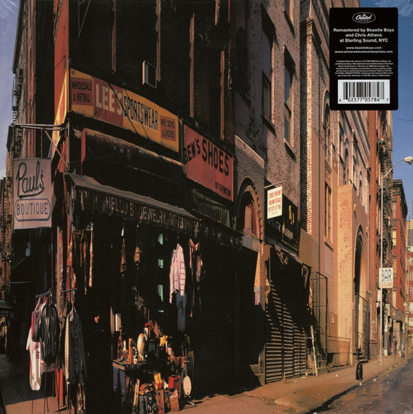 Beastie Boys Paul's Boutique Vinyl