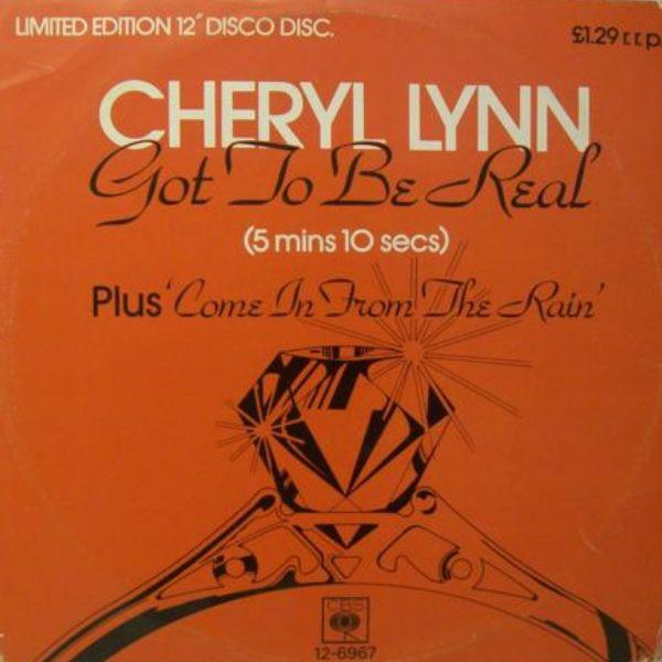 Cheryl Lynn Got To Be Real Vinyl