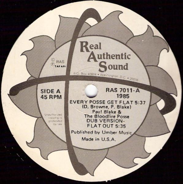 Paul Blake & The Bloodfire Posse Every Posse Get Flat  Vinyl