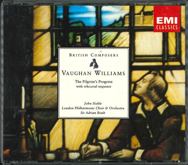 Williams - John Noble, Adrian Boult, The London Philharmonic Choir And Orchestra The Pilgrim's Progress