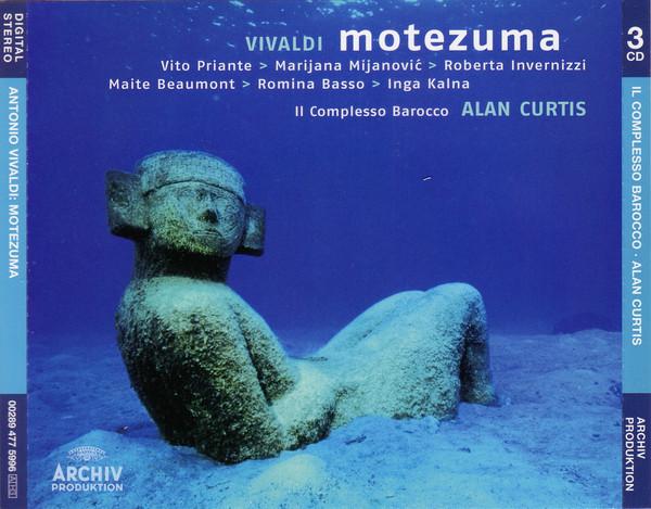 Vivaldi - Vito Priante, Marijana Mijanovic, Roberta Invernizzi, Maite Beaumont, Romina Basso › Inga Kalna, Il Complesso Barocco, Alan Curtis Motezuma
