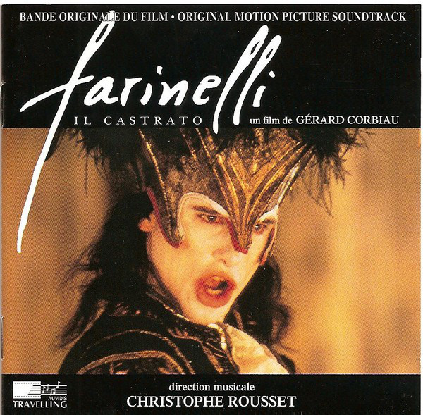 Christophe Rousset  Farinelli, Il Castrato (Bande Originale Du Film - Original Motion Picture Soundtrack) CD