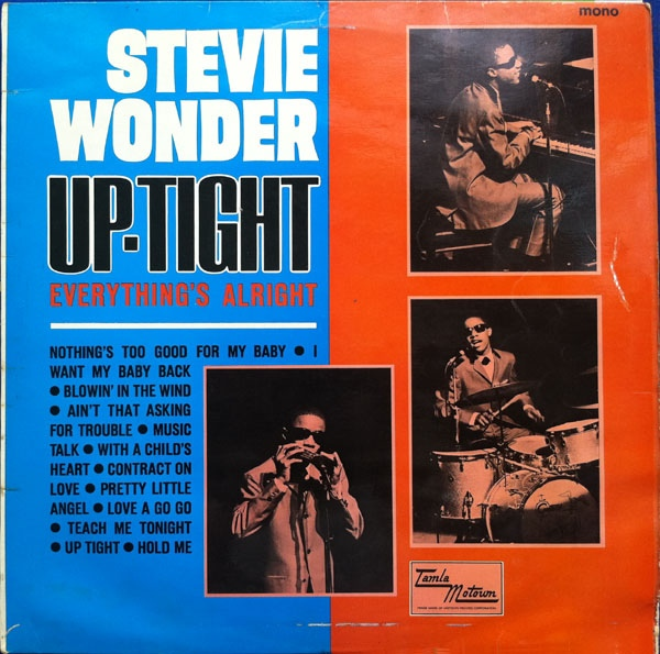Wonder Stevie Uptight Everythings Alright