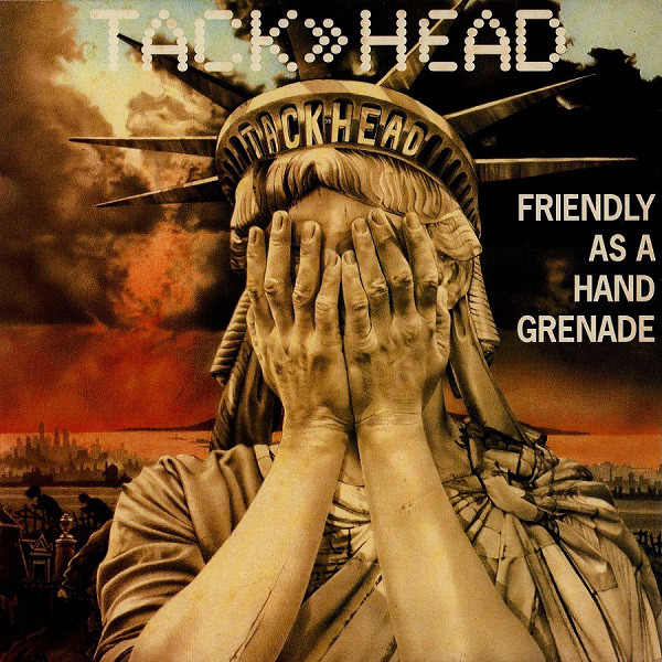 Tack Head Friendly As A hand Grenade Vinyl