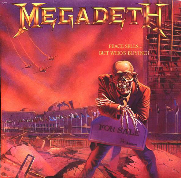 Megadeth Peace Sells... But Who's Buying? Vinyl