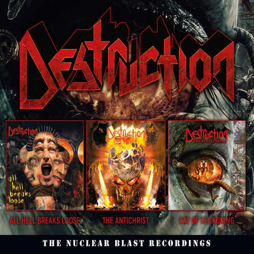 Destruction The Nuclear Blast Recordings  CD