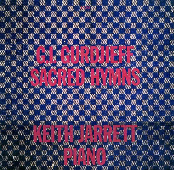 G. I. Gurdjieff* - Keith Jarrett Sacred Hymns Vinyl