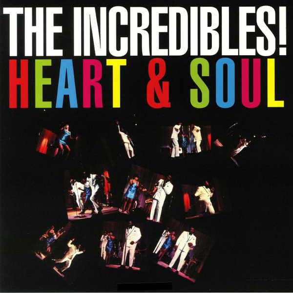 The Incredibles Heart & Soul Vinyl