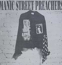 Manic Street Preachers You Love Us Vinyl