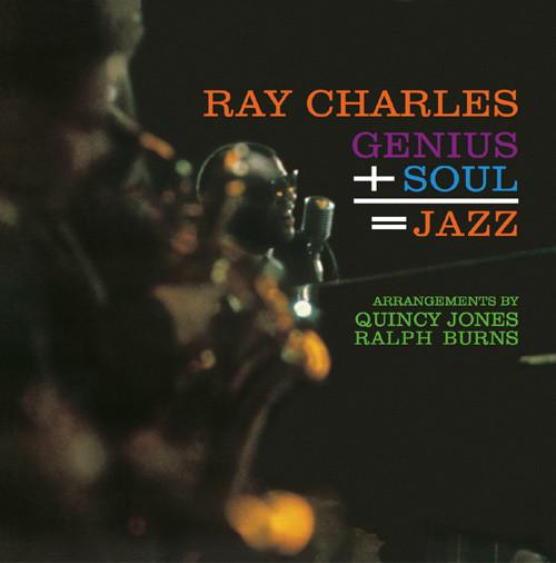 Ray Charles Genius + Soul = Jazz Vinyl