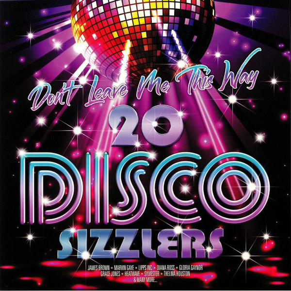 Various Don't Leave Me This Way - 20 Disco Sizzlers Vinyl