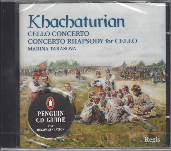 Khachaturian – Marina Tarasova Cello Concerto / Concerto-Rhapsody For Cello