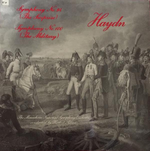 Haydn - Herbert Albert Symphony No. 94 in G major (The Surprise) / Symphony No. 100 in G major (The Military) Vinyl