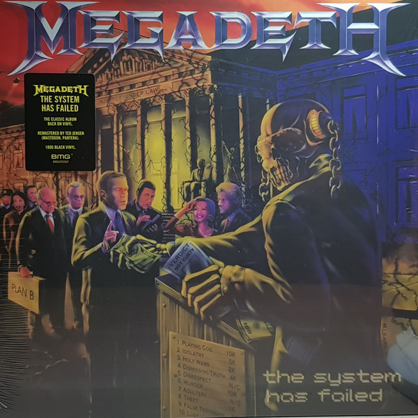 Megadeth The System Has Failed