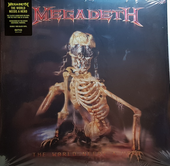 Megadeth The World Needs A Hero Vinyl