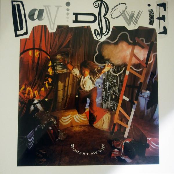 Bowie, David Never Let Me Down Vinyl
