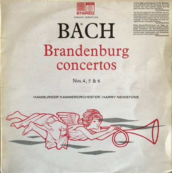 Bach - Harry Newstone Brandenburg Concertos Nos. 4, 5 & 6