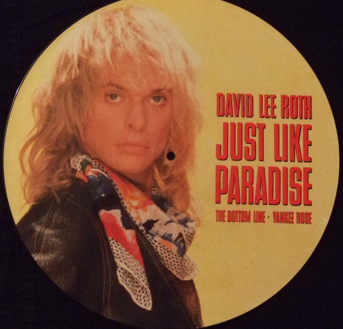 Roth, David Lee Just Like Paradise Vinyl