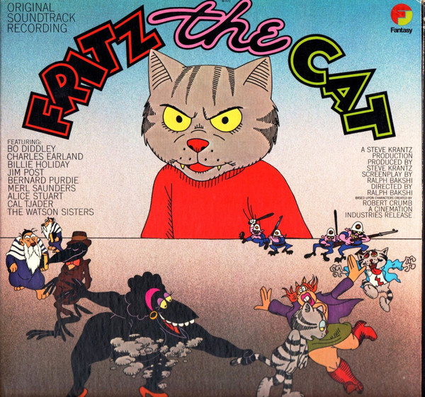 Various Fritz The Cat (Original Soundtrack Recording) Vinyl