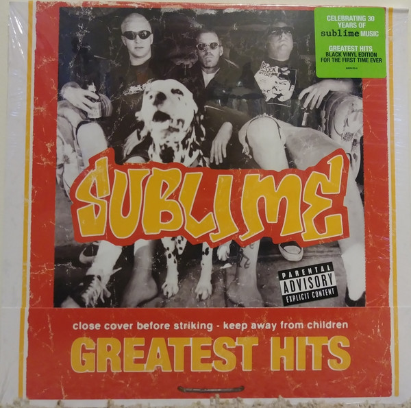 Sublime Greatest Hits Vinyl
