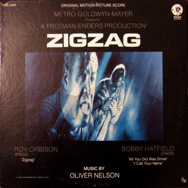 Oliver Nelson Zigzag - Roy Orbison - Soundtrack Vinyl