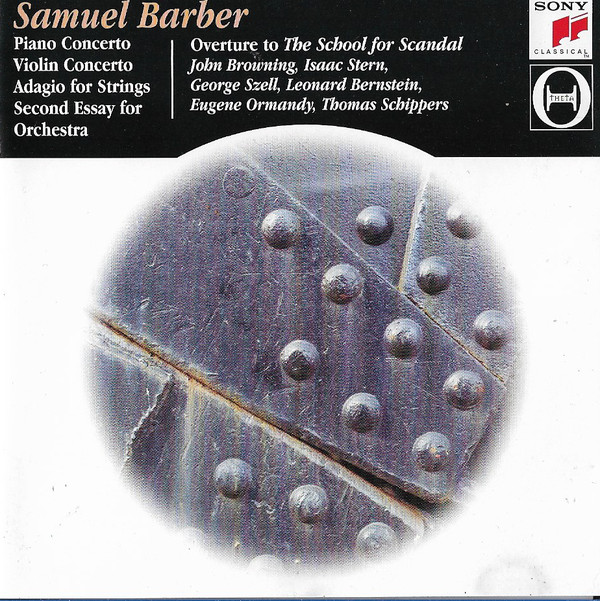 Barber, Samuel Piano Concerto, Violin Concerto, Etc CD