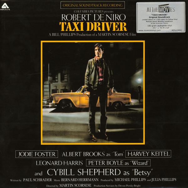 Bernard Herrmann Taxi Driver (Original Soundtrack Recording) Vinyl