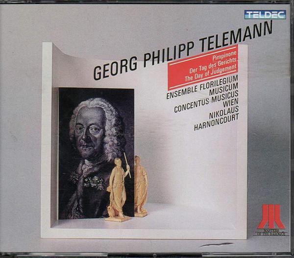 Telemann - Ensemble Florilegium Musicum, Concentus Musicus Wien, Nikolaus Harnoncourt Pimpinone - Der Tag des Gerichts - The Day of Jedgement Vinyl