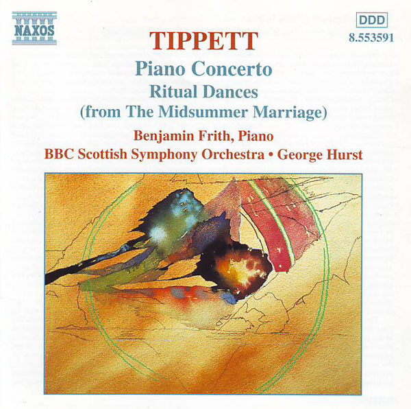 Tippett - Benjamin Frith, BBC Scottish Symphony Orchestra, George Hurst Piano Concerto • Ritual Dances (From The Midsummer Marriage)