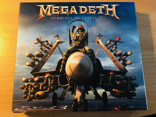 Megadeath Warheads on Foreheads Vinyl