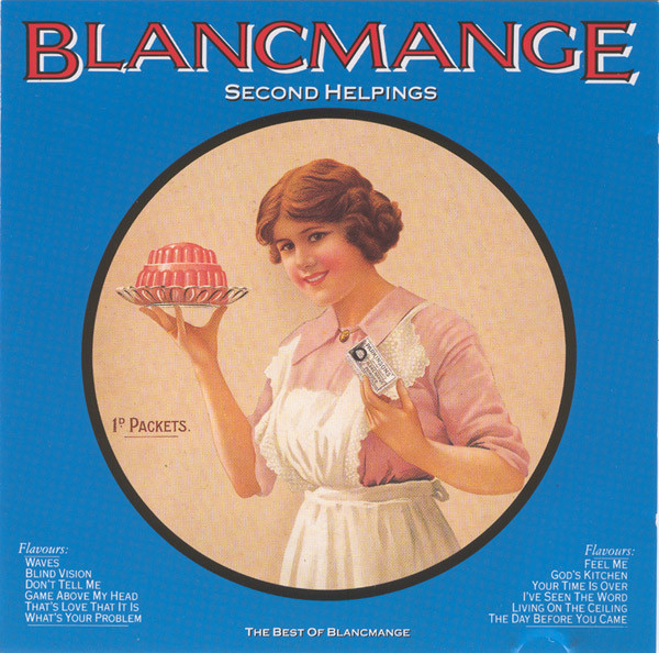 Blancmange Secind Helpings - The Best Of