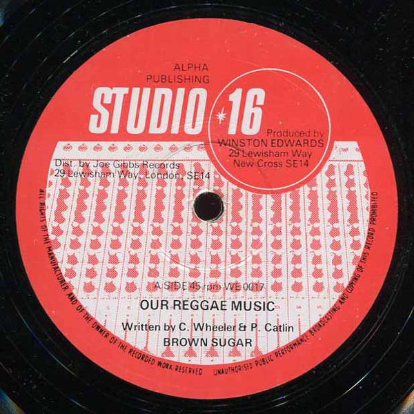 Brown Sugar Our Reggae Music Vinyl