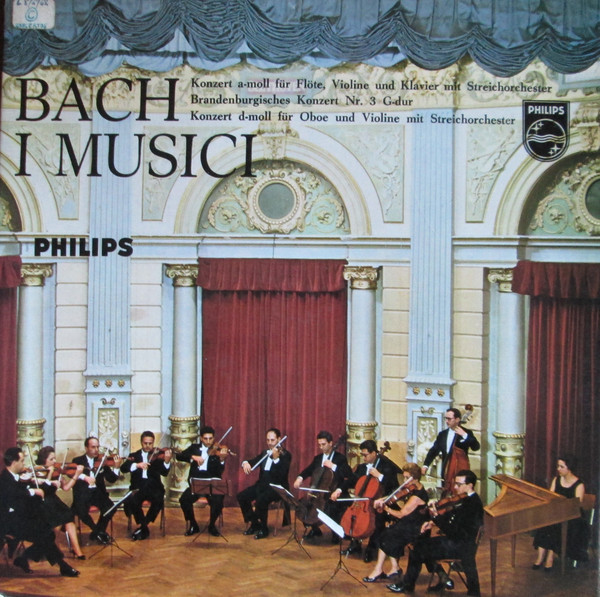 Bach Concerto For Flute, Violin / Concerto For Oboe And Violin / Brandenburg Concerto No. 3 Vinyl