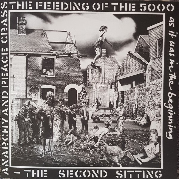 Crass The Feeding Of The 5000 (The Second Sitting) Vinyl