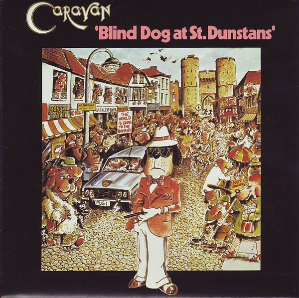 Caravan Blind Dog At St Dunstans