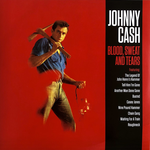 Johnny Cash Blood, Sweat And Tears Vinyl