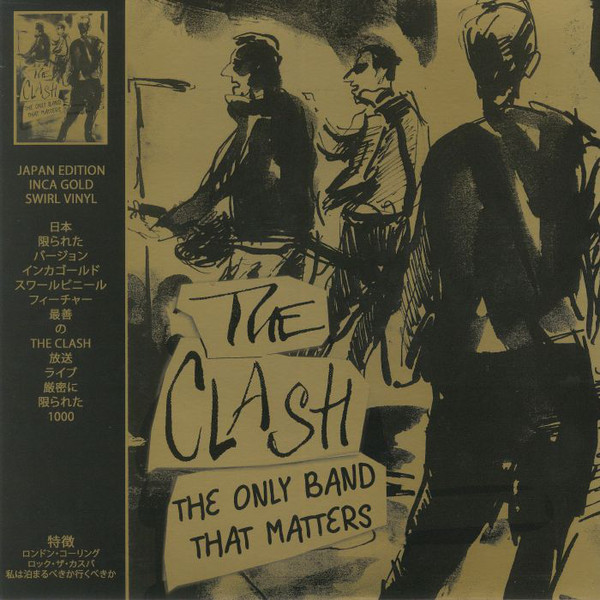 The Clash The Only Band That Matters (Japan Edition) Vinyl
