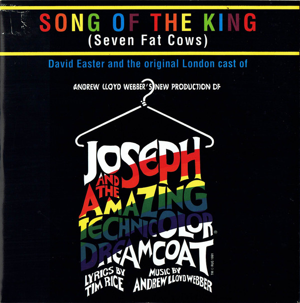 David Easter And The Original London Cast Of Joseph And The Amazing Technicolor Dreamcoat Song Of The King (Seven Fat Cows) Vinyl